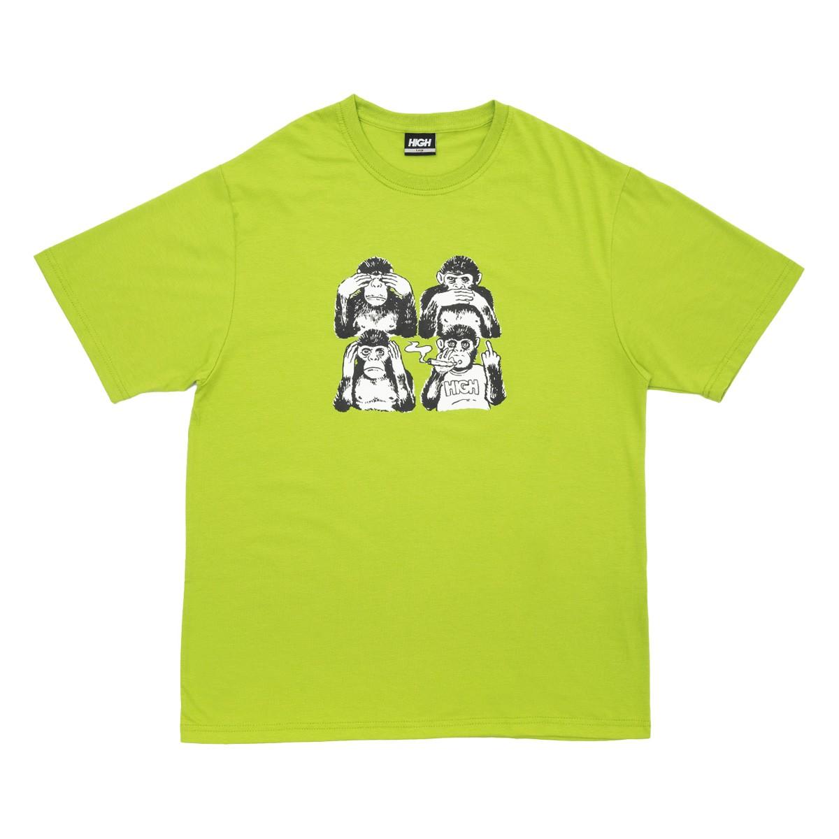Camiseta High Tee Monkeys Green