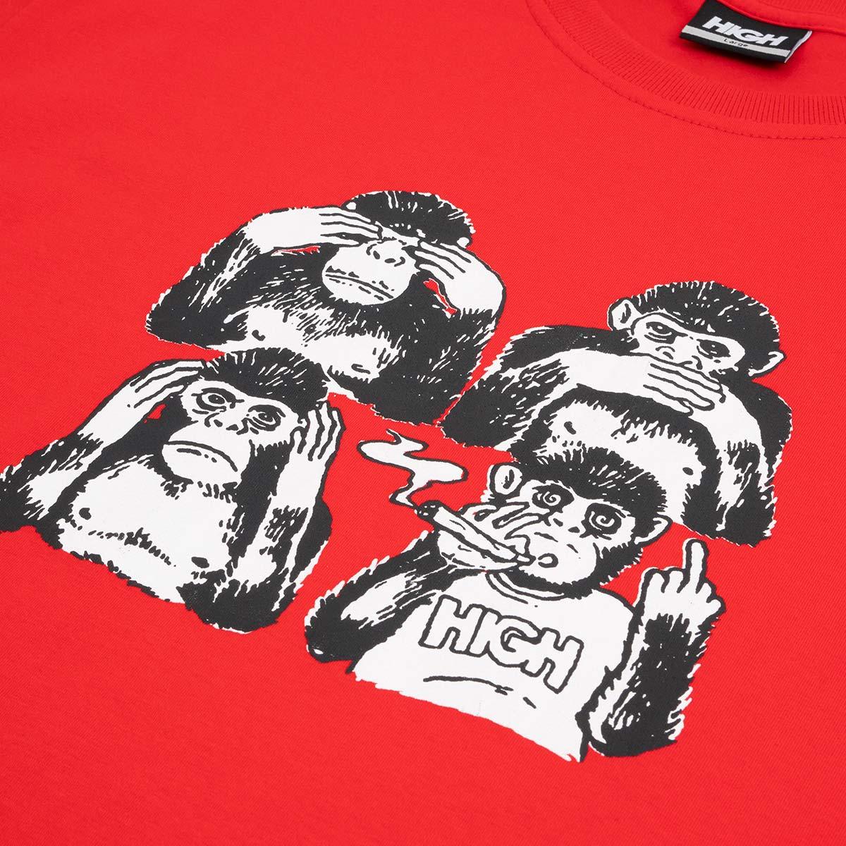 Camiseta High Tee Monkeys Red