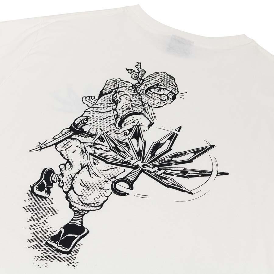 Camiseta High Tee Ninja White