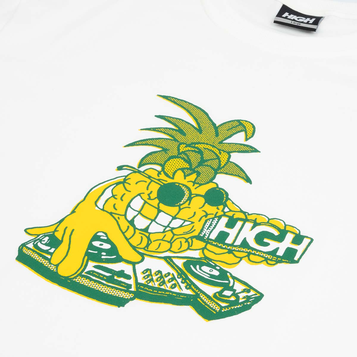 Camiseta High Tee Piña White