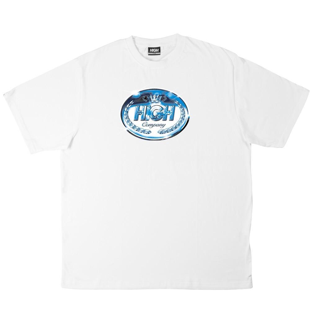 Camiseta HIGH Tee Plate White