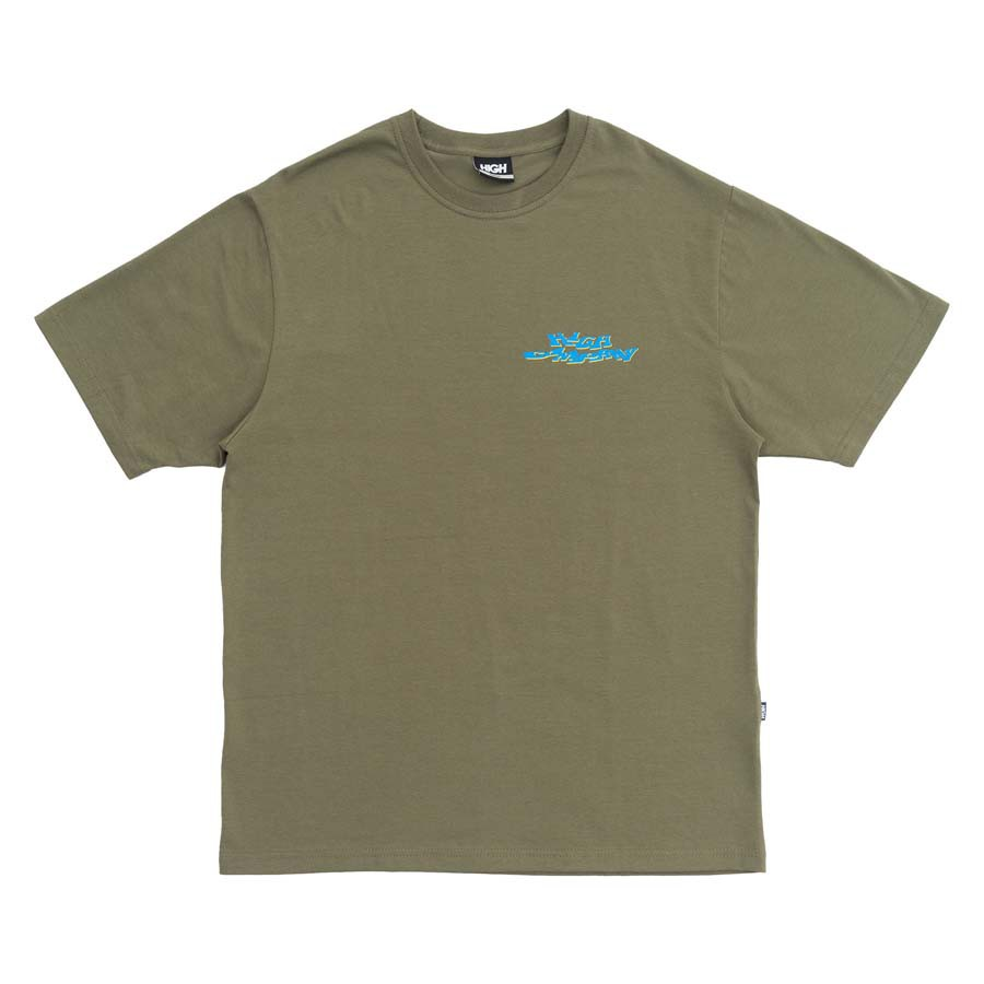 Camiseta High Tee Screwed Desert Green