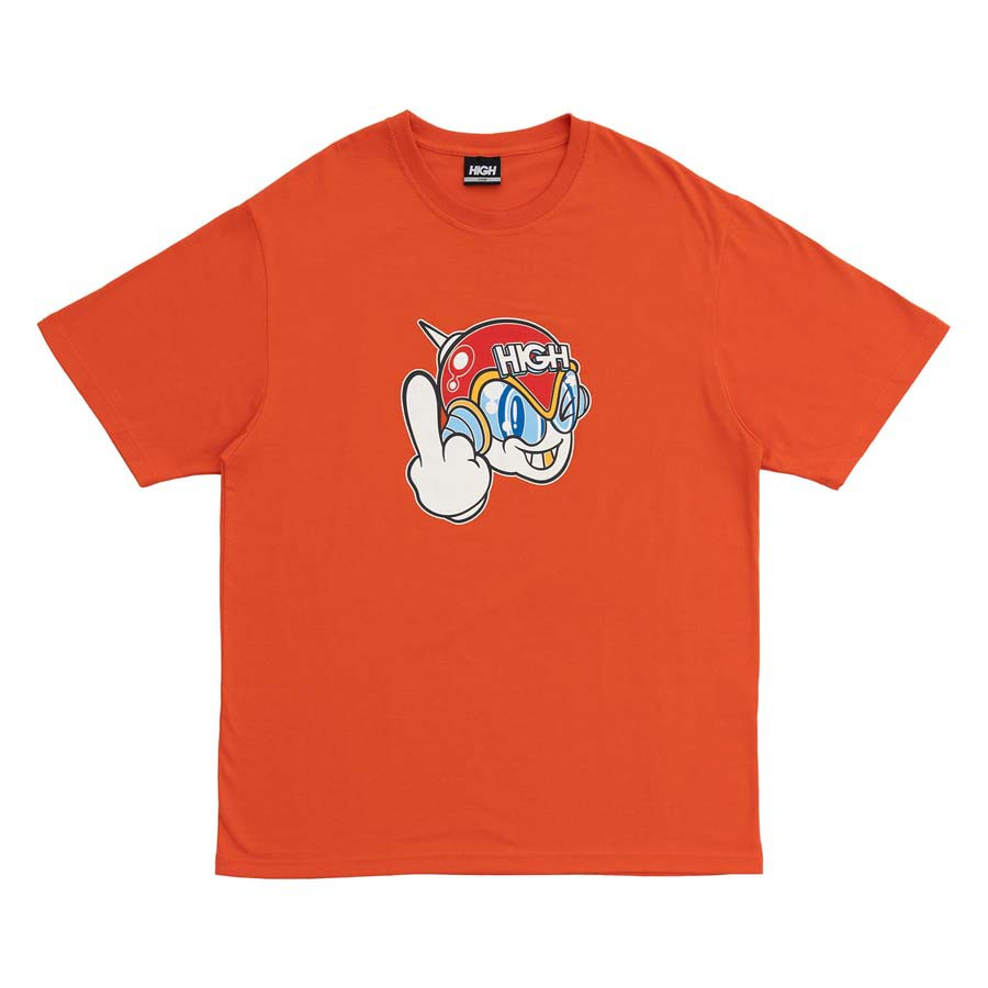 Camiseta High Tee Space G Orange