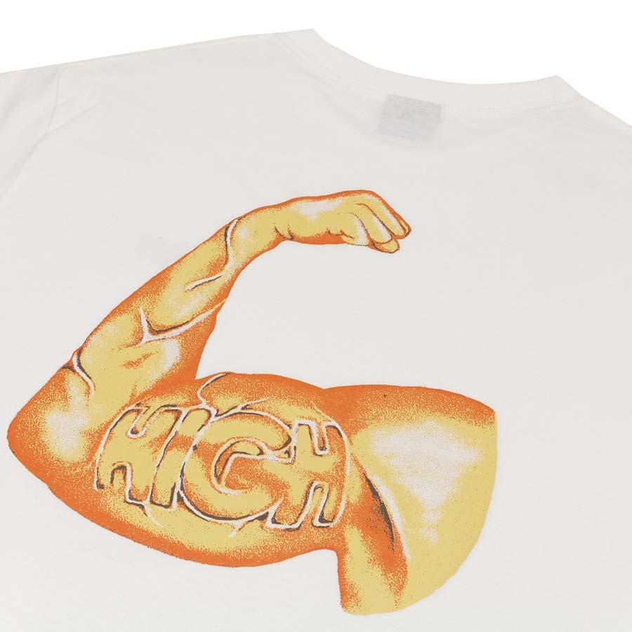 Camiseta High Tee Strength White
