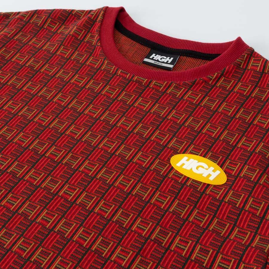 Camiseta High Tee Tapestry Burgundy Brown 20D2P2