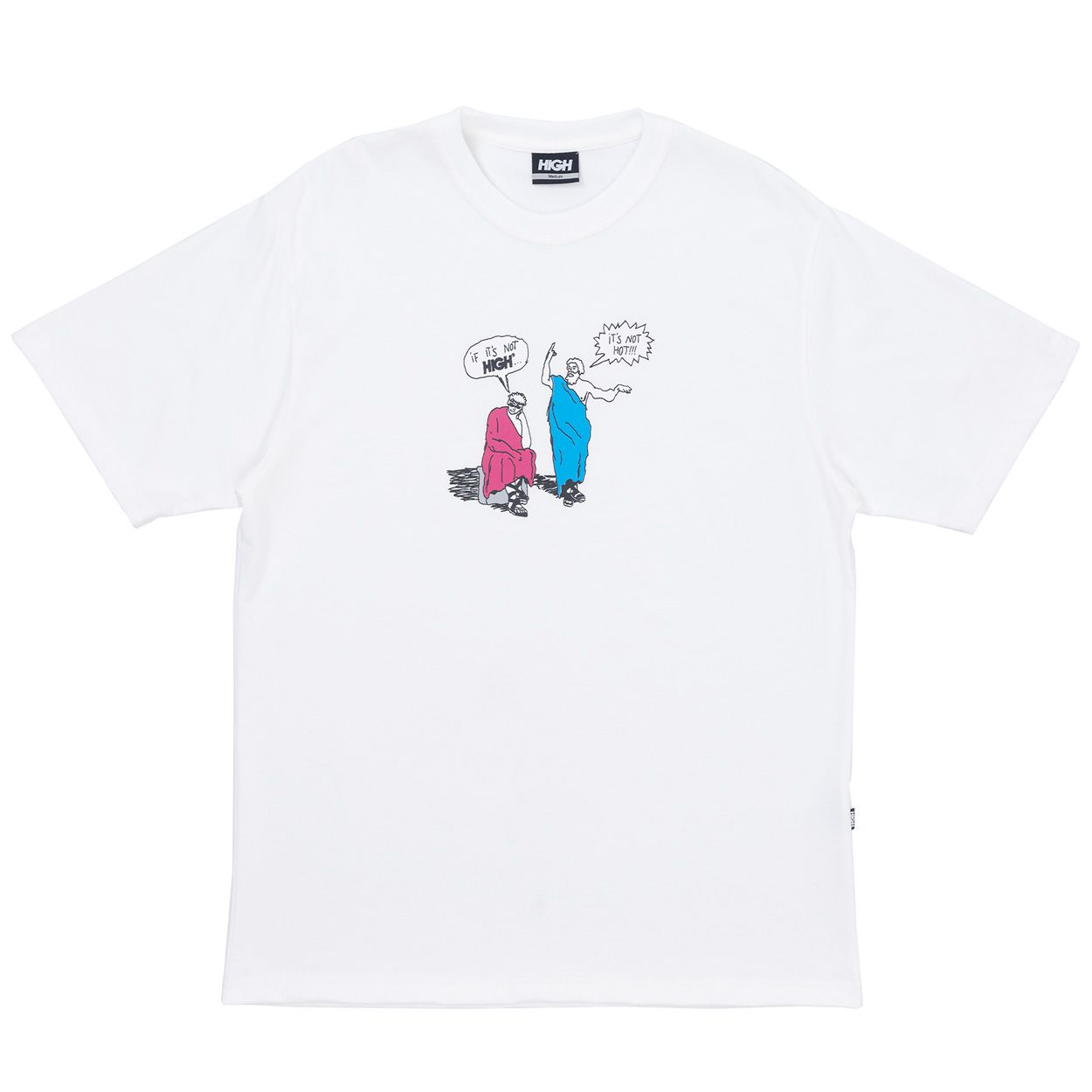 Camiseta High Tee Thinker White