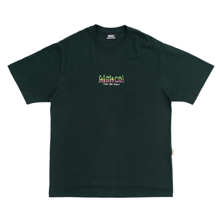 Camiseta High Tee Times Night Green