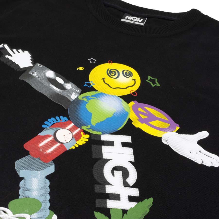 Camiseta High Tee Zord Black