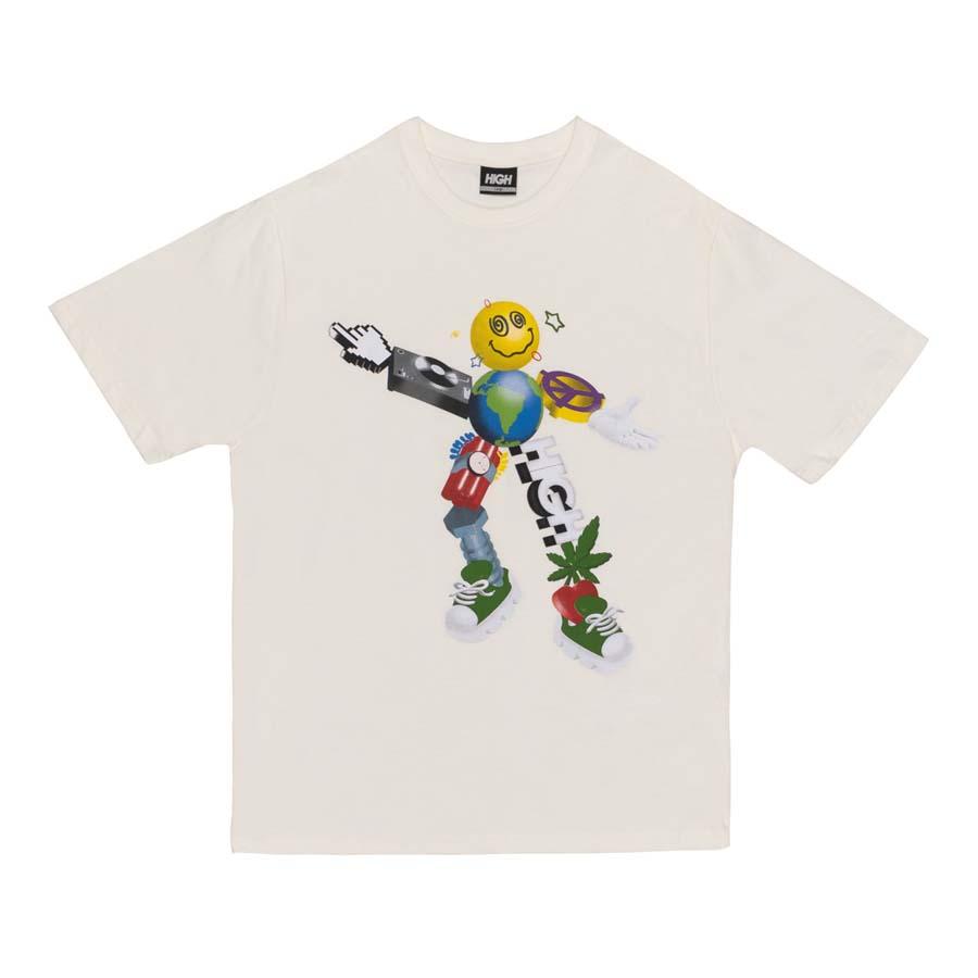 Camiseta High Tee Zord White