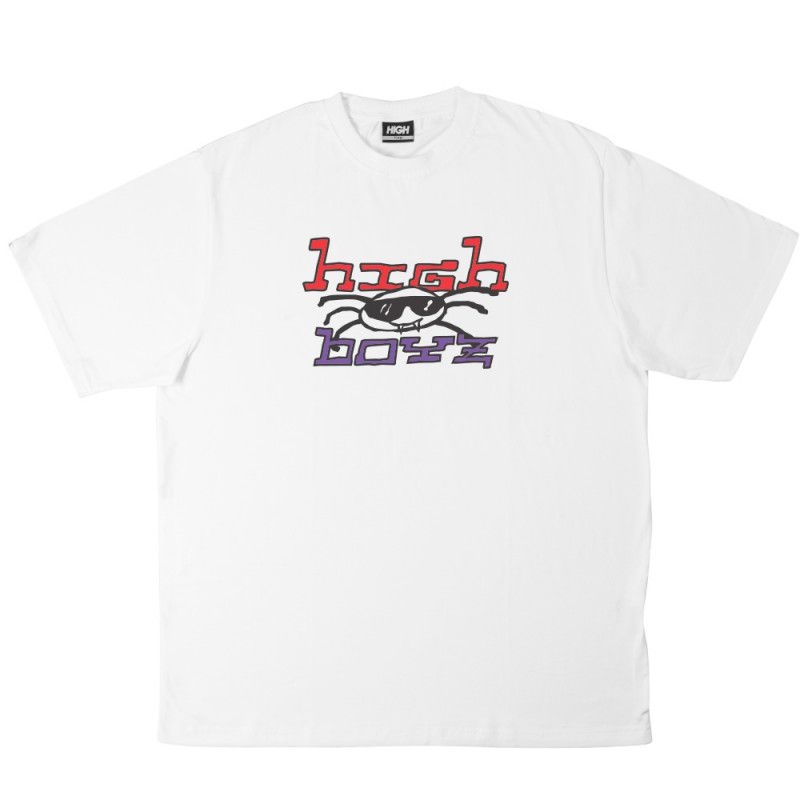 Camiseta HIGH Vírus White