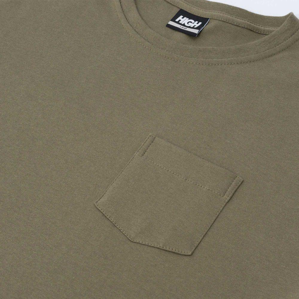 Camiseta High Work Tee Outline Logo Desert Green