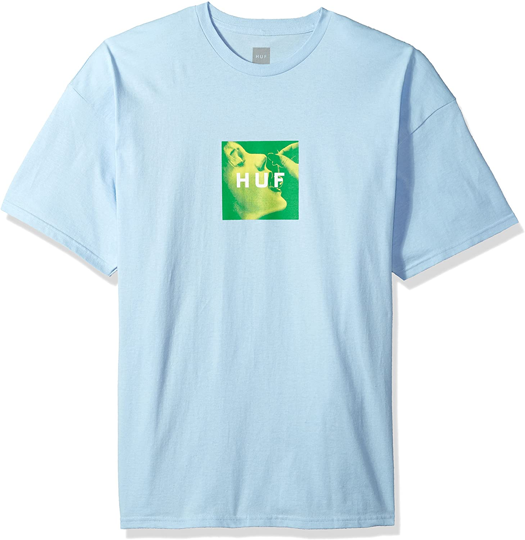 Camiseta Huf Box Cherry Light Blue