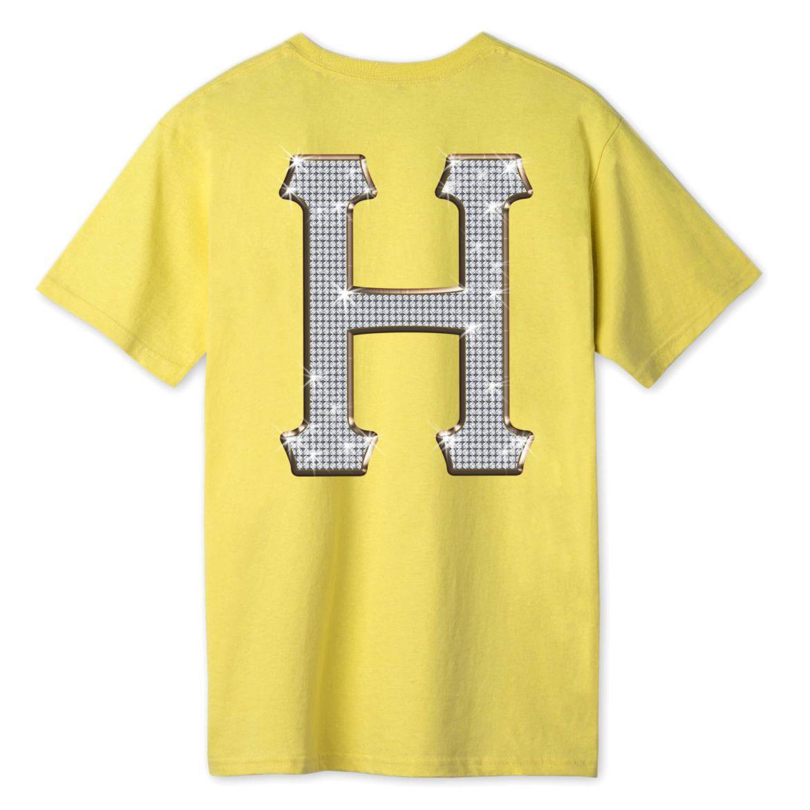 Camiseta HUF Jacob Classic Amarelo