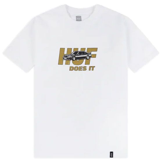 Camiseta HUF Pusher White
