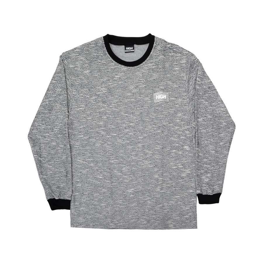 Camiseta Manga Longa High Tweed Longsleeve Black