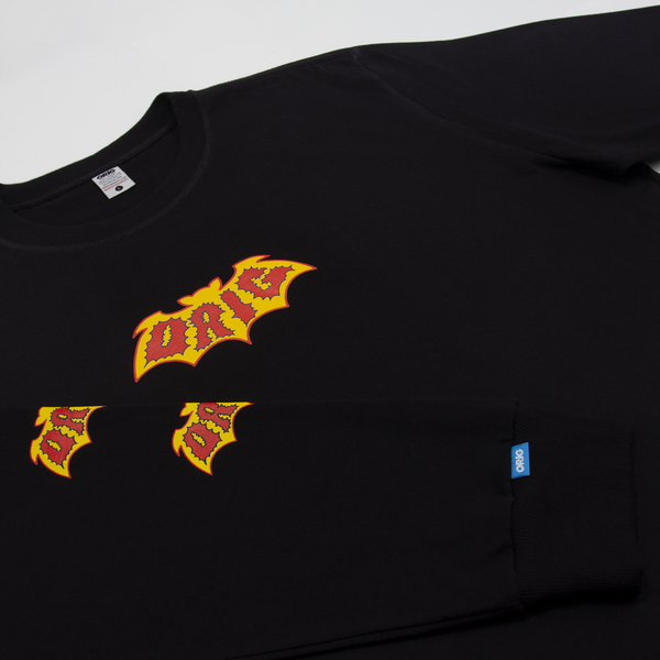 Camiseta Manga Longa Orig Dracula Black