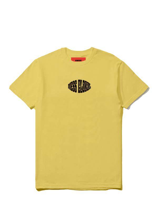 Camiseta Mess Ciclo Amarelo