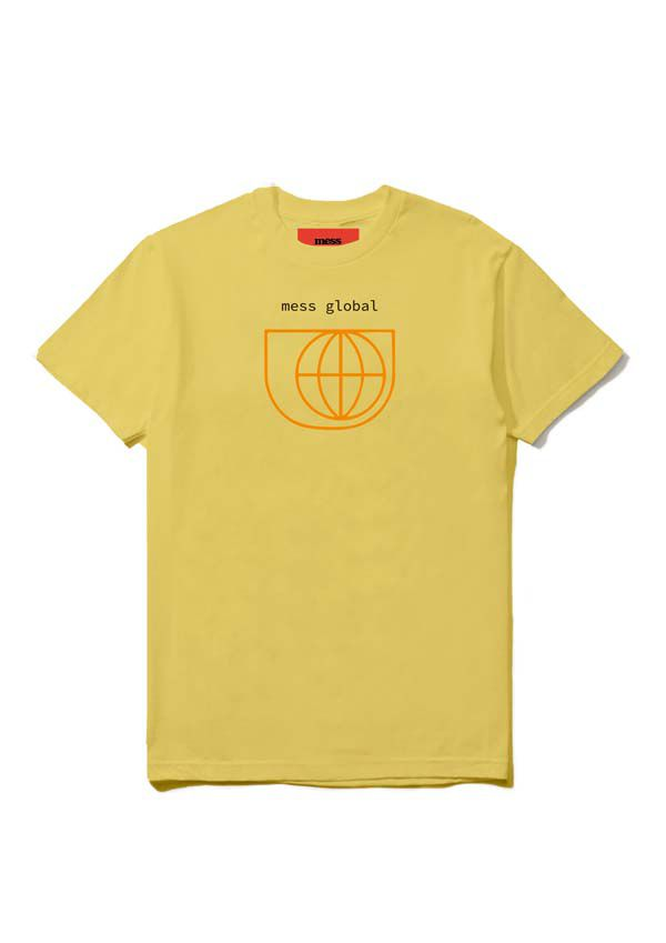 Camiseta Mess Global Amarela