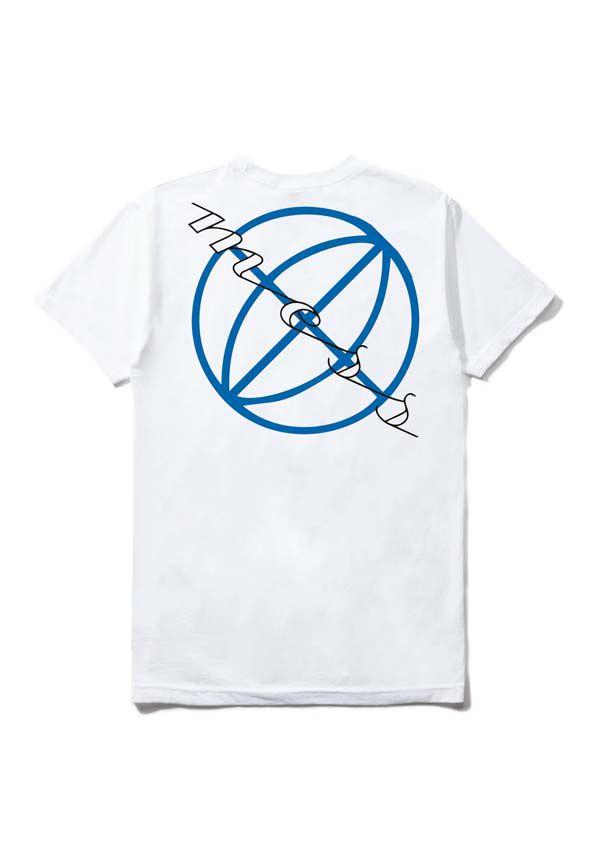 Camiseta Mess Globo Branca