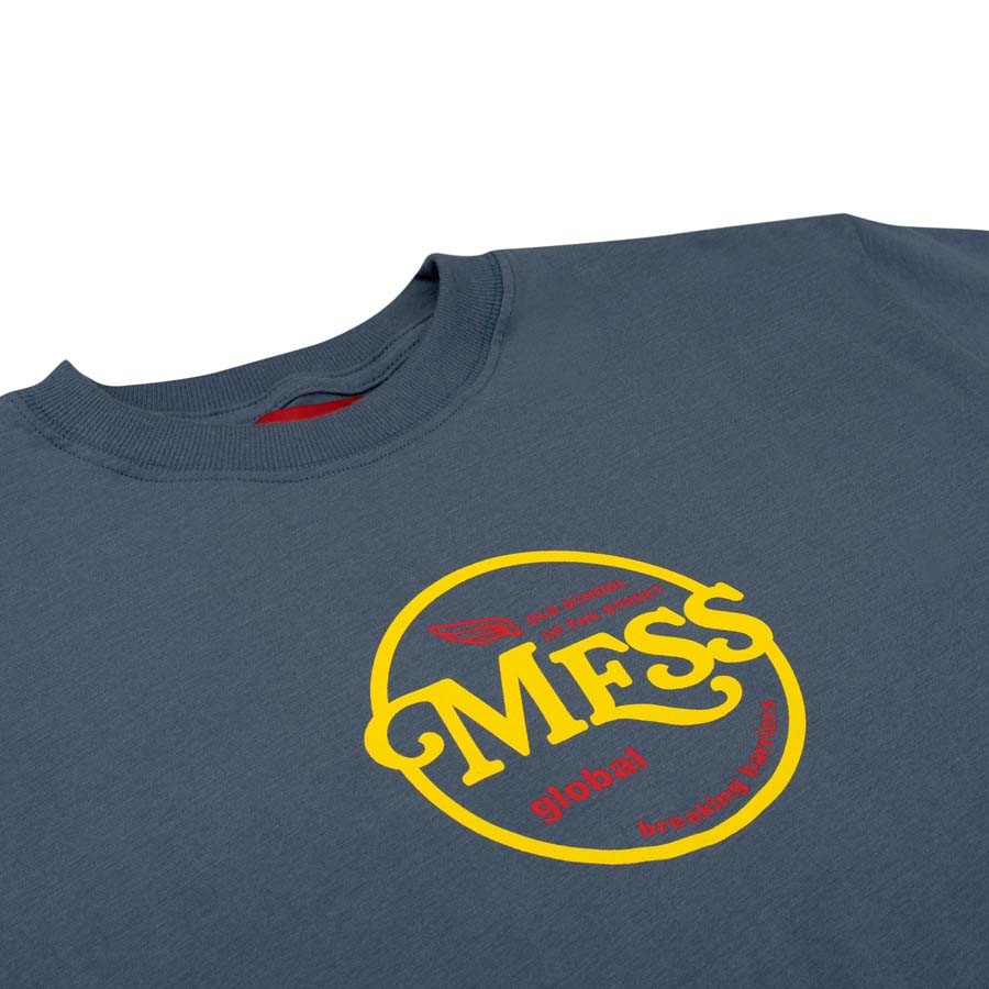 Camiseta Mess Old Skool Azul