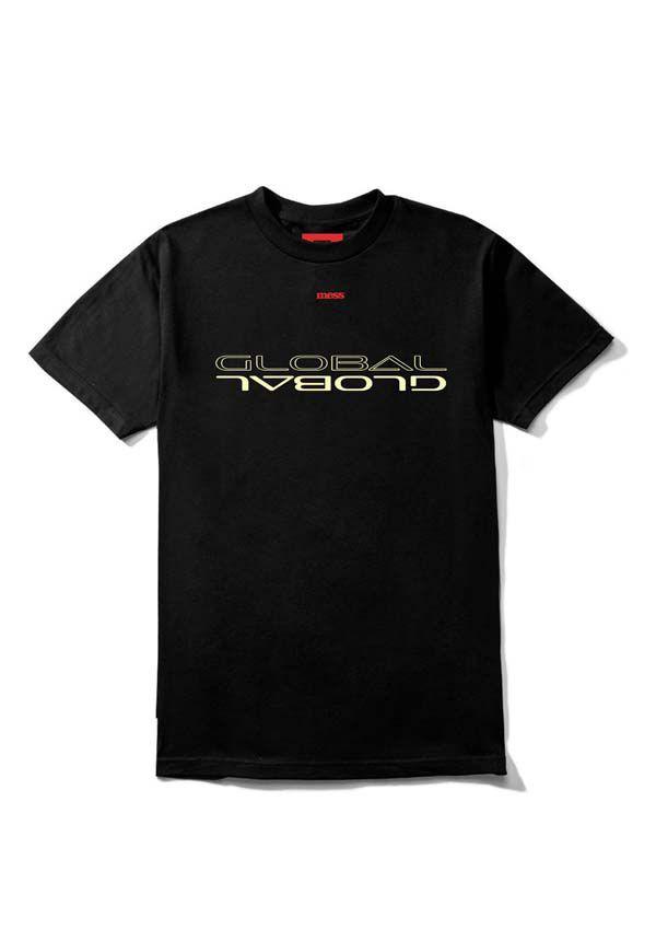 Camiseta Mess Paradigma Preto