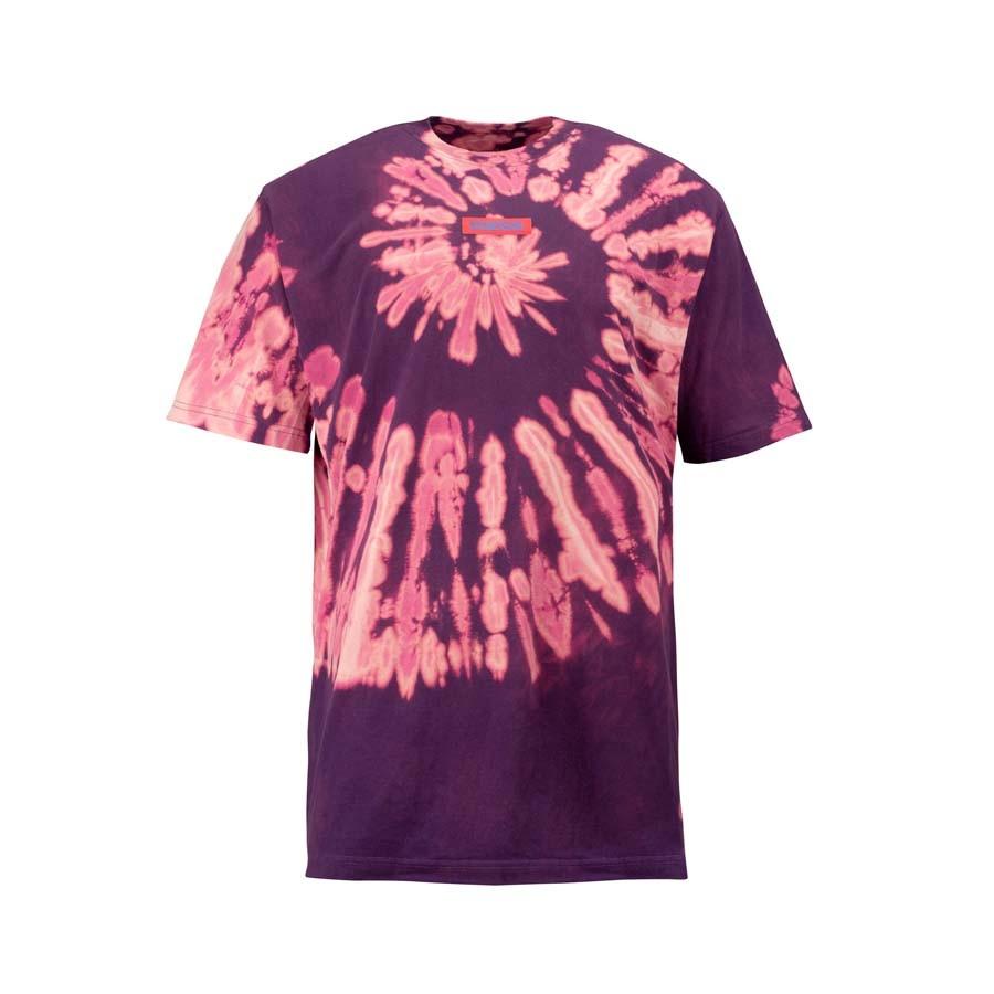 Camiseta Mess Tie Dye Wine