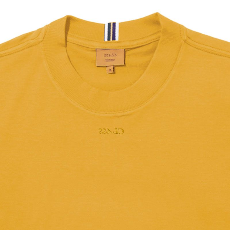 Camiseta Class Miniclass Mustard