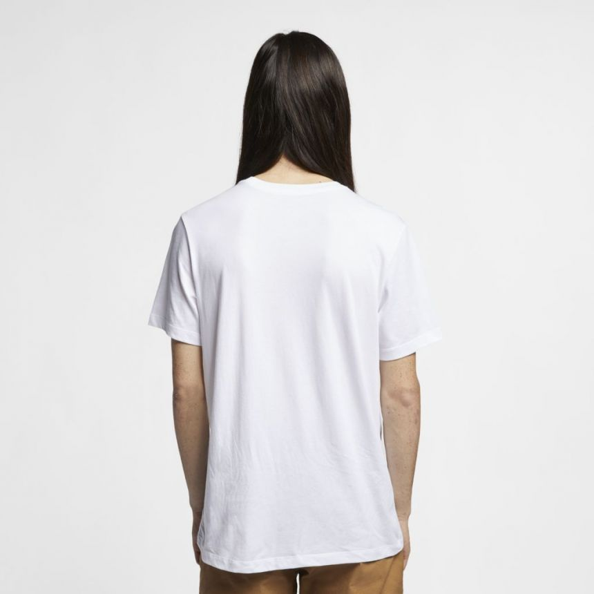 Camiseta Nike SB Dri-Fit Logo Branca