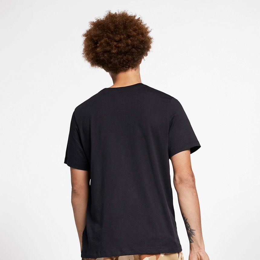 Camiseta Nike SB Dri-Fit Logo Preta
