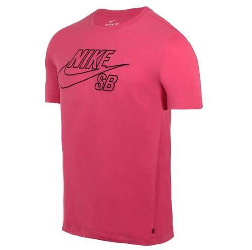 Camiseta Nike SB Dri-Fit Logo Rosa