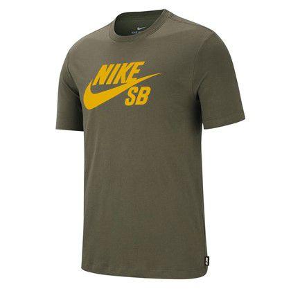 Camiseta Nike SB Dri-Fit Logo Verde