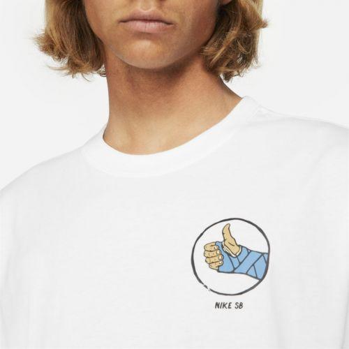 Camiseta Nike SB Tee Fracture Branca