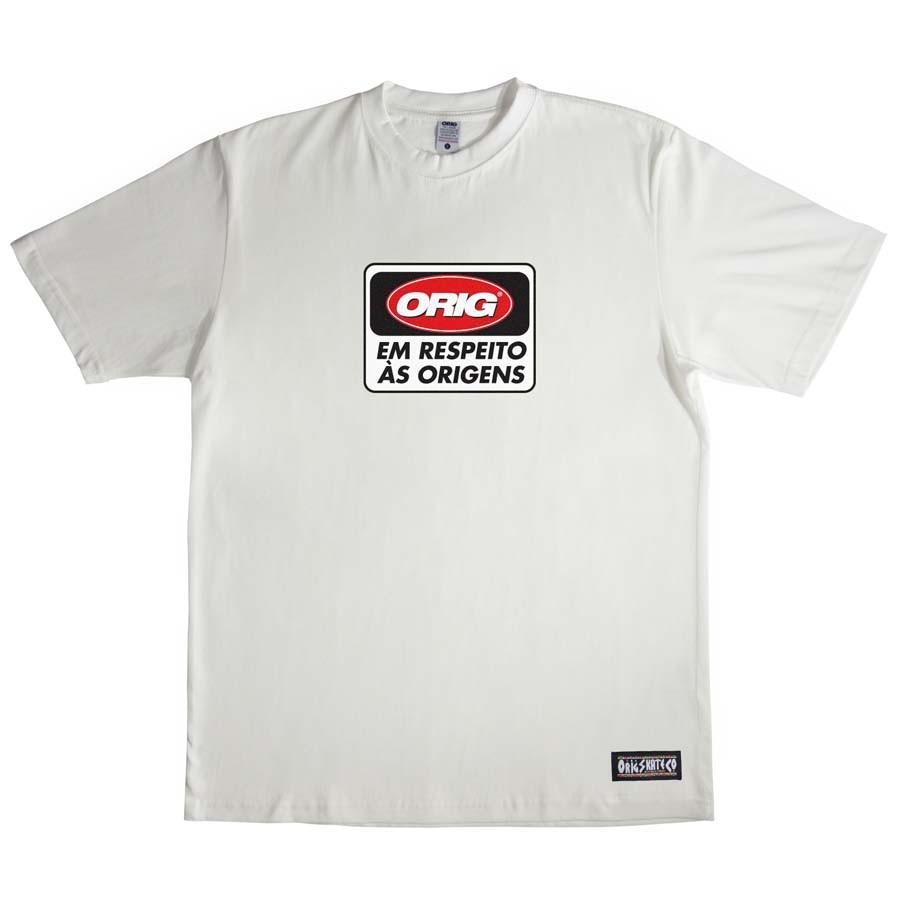 Camiseta Orig Stop Sign Beige
