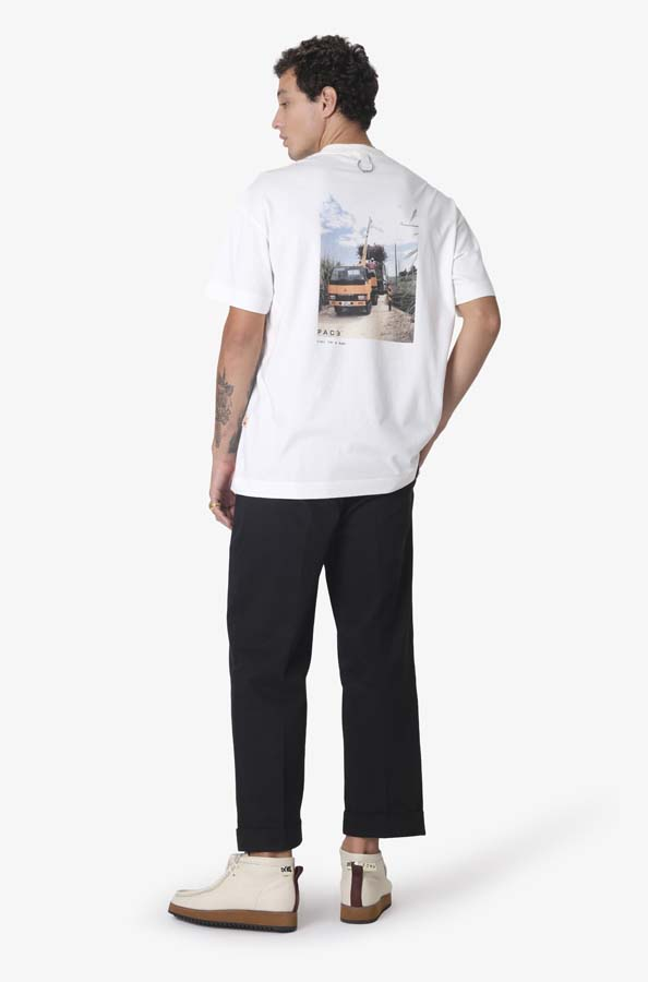 Camiseta Pace Delivery Off White