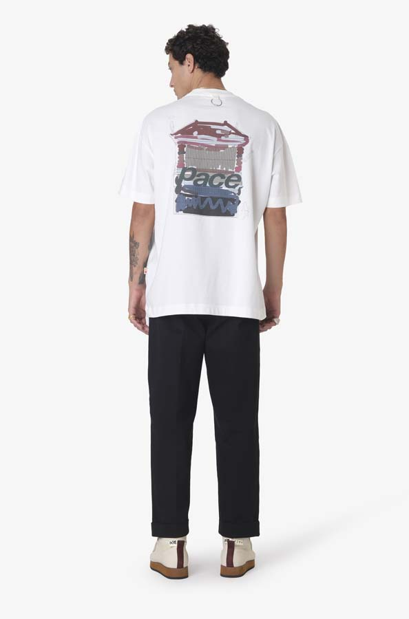 Camiseta Pace Work Home Off White