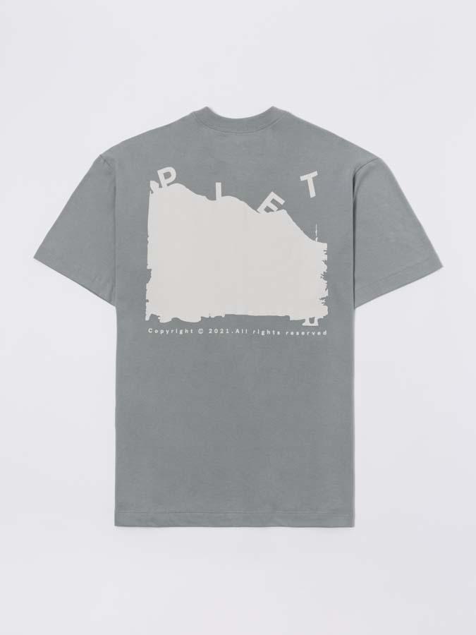 Camiseta PIET Abstract Paisage T-shirt Cinza