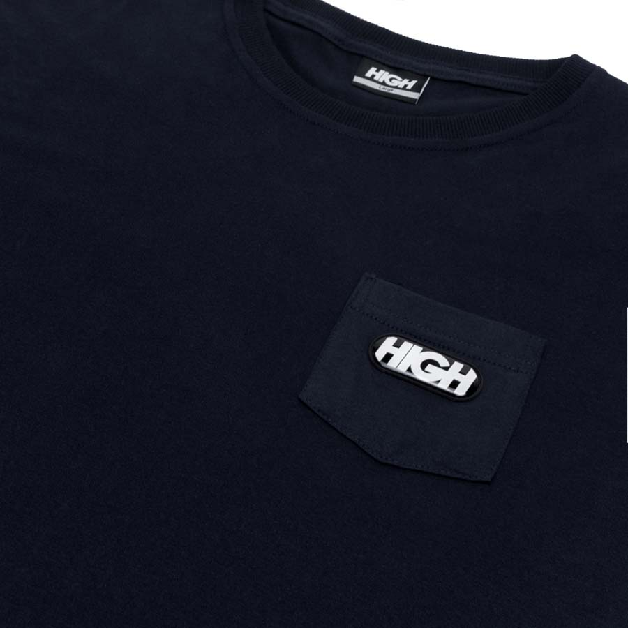 Camiseta Pocket High Tee Toy Black
