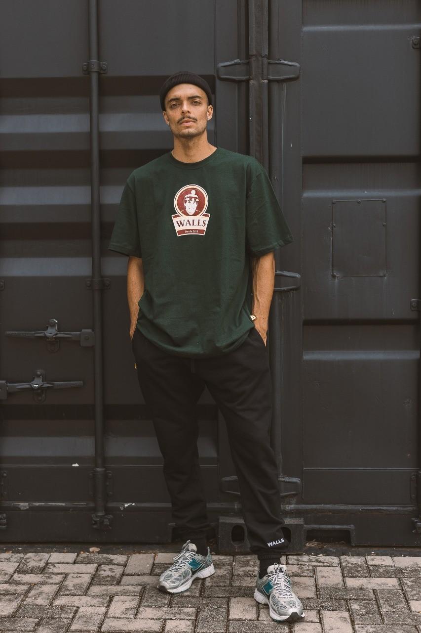 Camiseta WALLS Real Verde Escuro