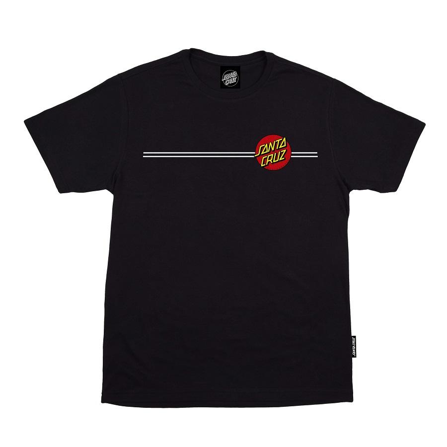 Camiseta Santa Cruz Classic Dot Black