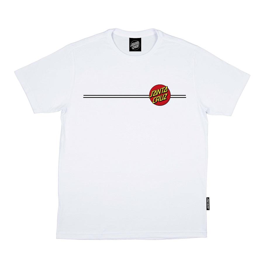 Camiseta Santa Cruz Classic Dot White