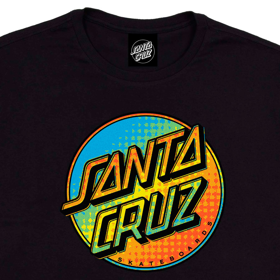 Camiseta Santa Cruz Contra Dot Pop