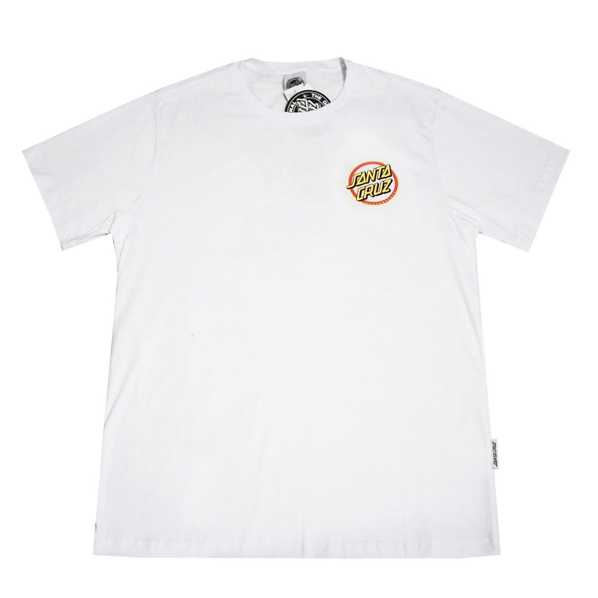 Camiseta Santa Cruz Gleam Dot White