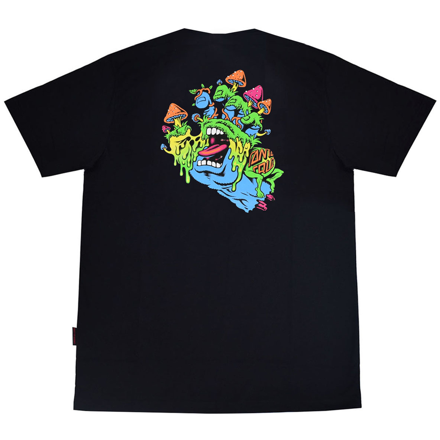 Camiseta Santa Cruz Toxic Hand Black