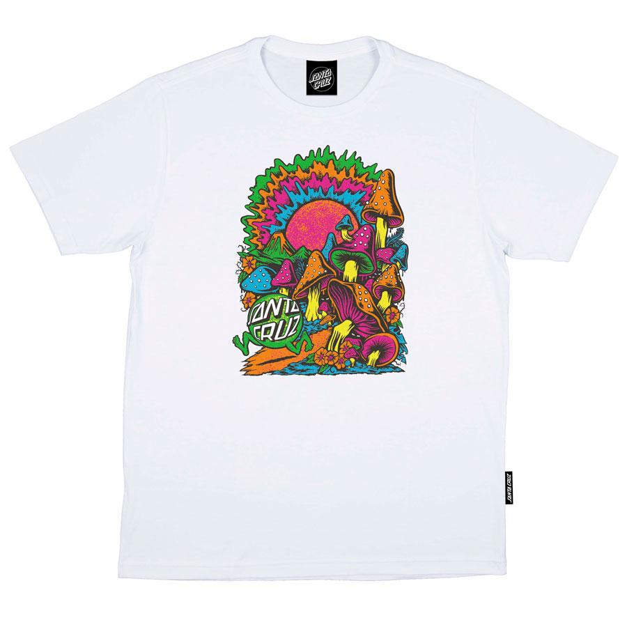 Camiseta Santa Cruz Toxic Wasteland White