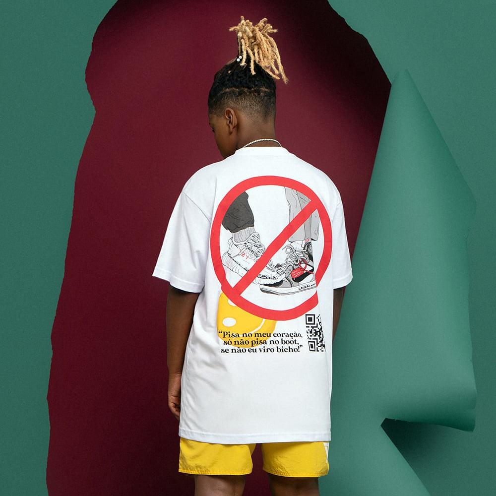 Camiseta Seven Caverinha Não Pisa No Meu Boot