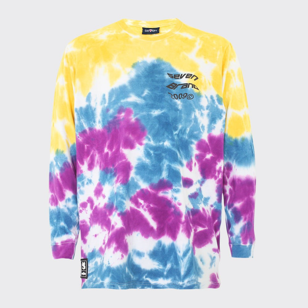 Camiseta Seven Longsleeve Tie Dye Color