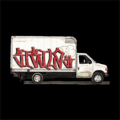 Camiseta Sigilo Grapixo-Truck Preto