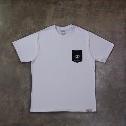 Camiseta Sigilo Pocket Branco