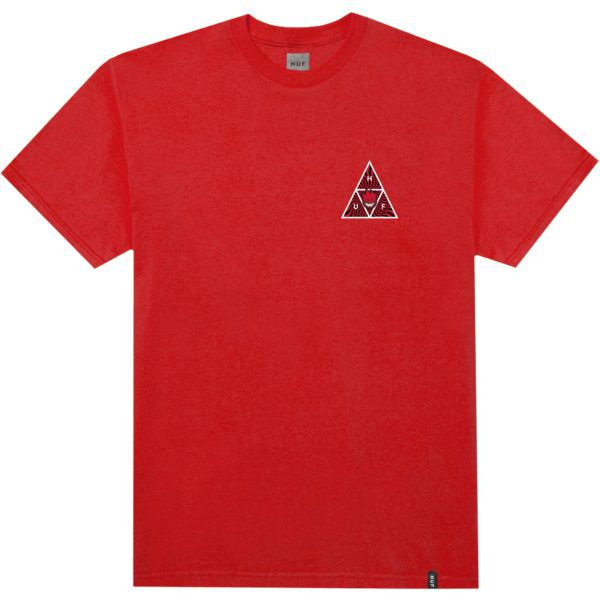 Camiseta Spitfire x HUF TT Red