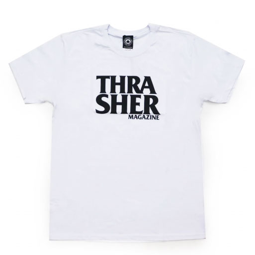 Camiseta Thrasher Anti Logo Branca
